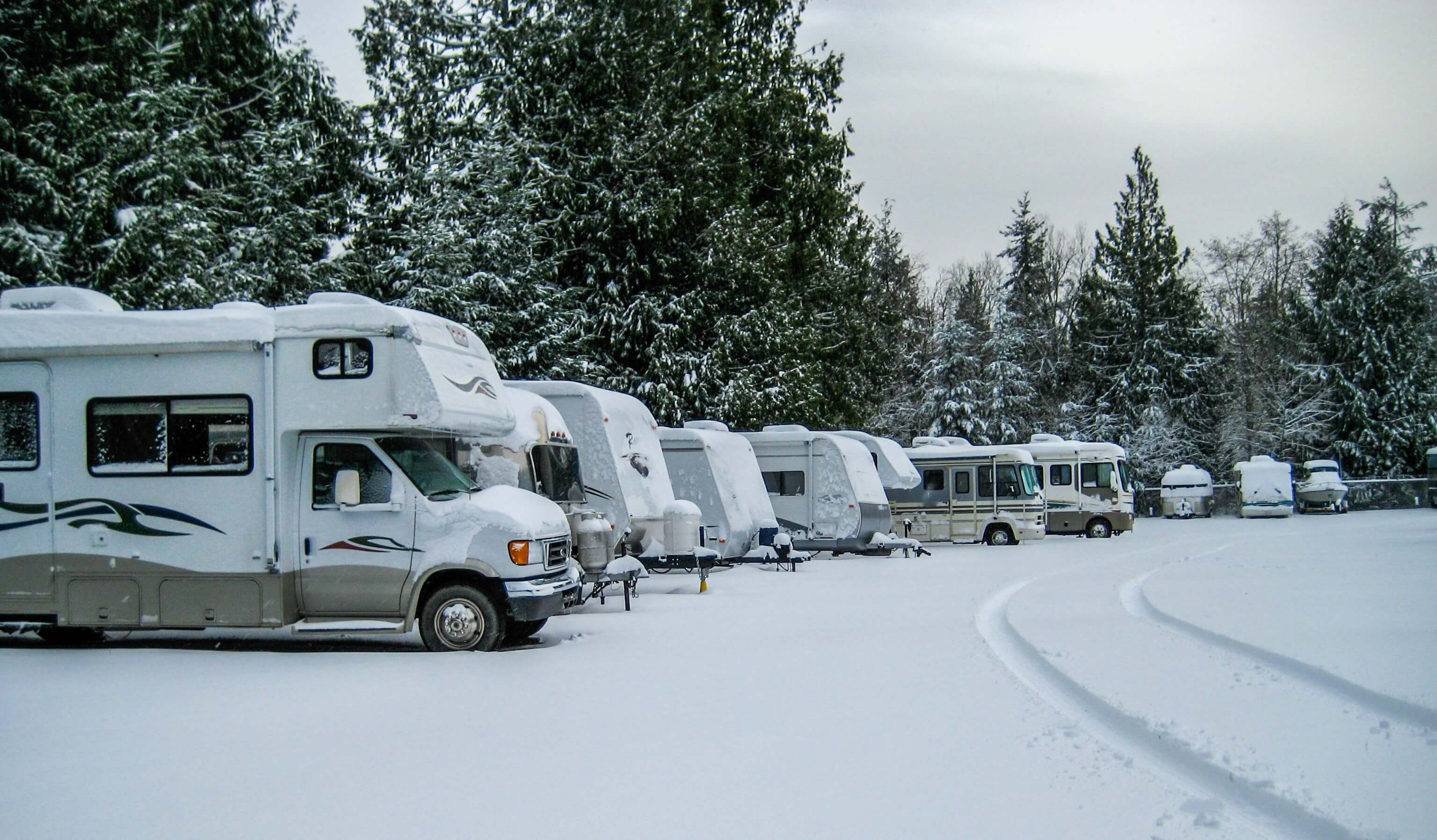 Get Your RV Set for Winter